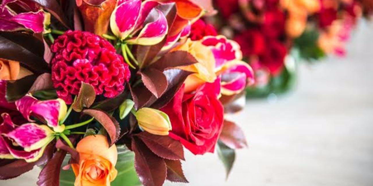 Flores para festas e eventos