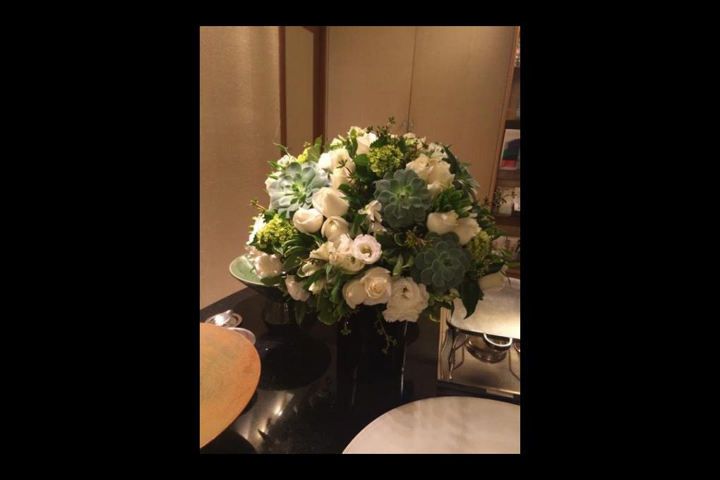 Flores para comemorar bodas de prata