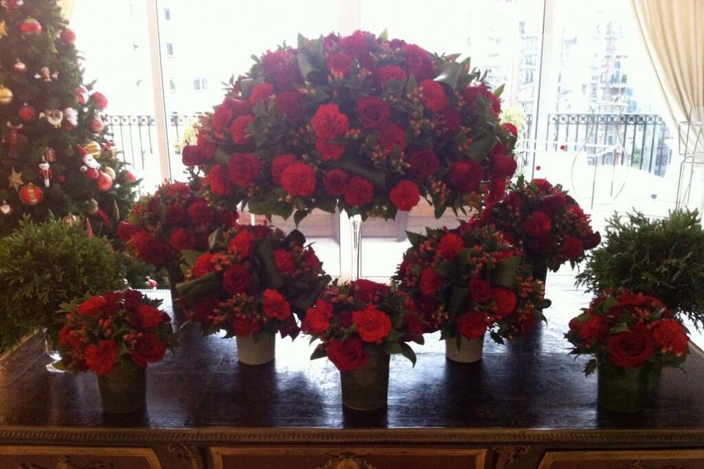 Flores para um Natal criativo