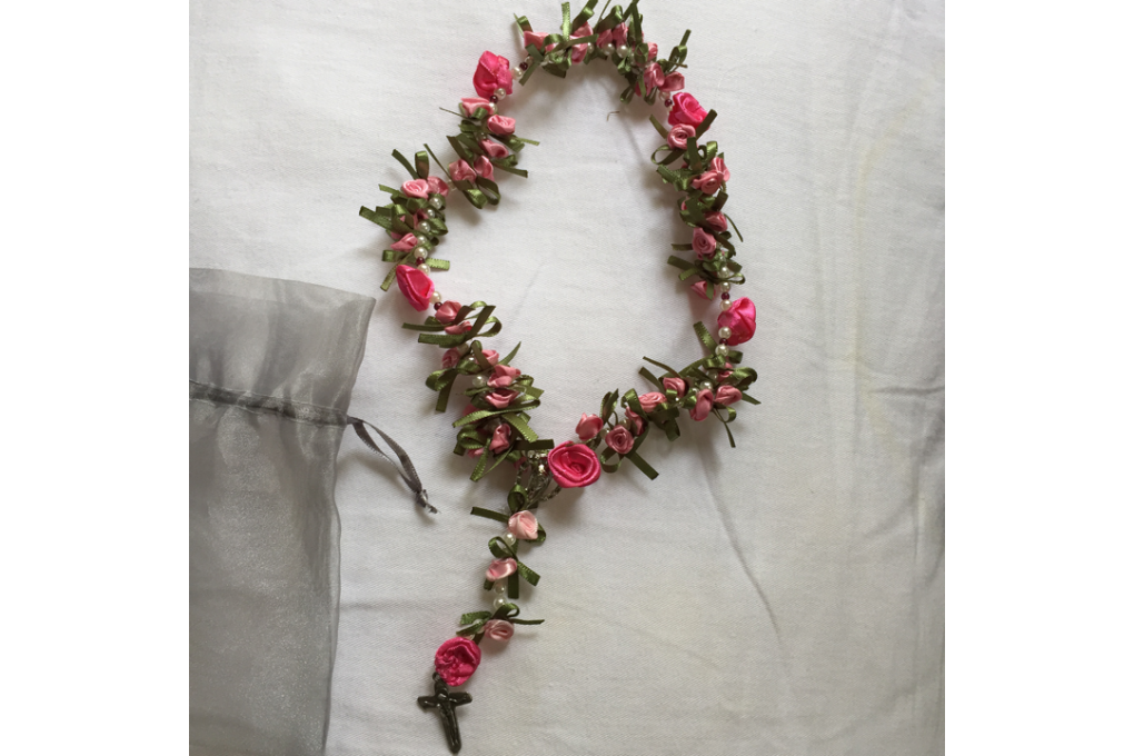 Tercinho de flores para presente